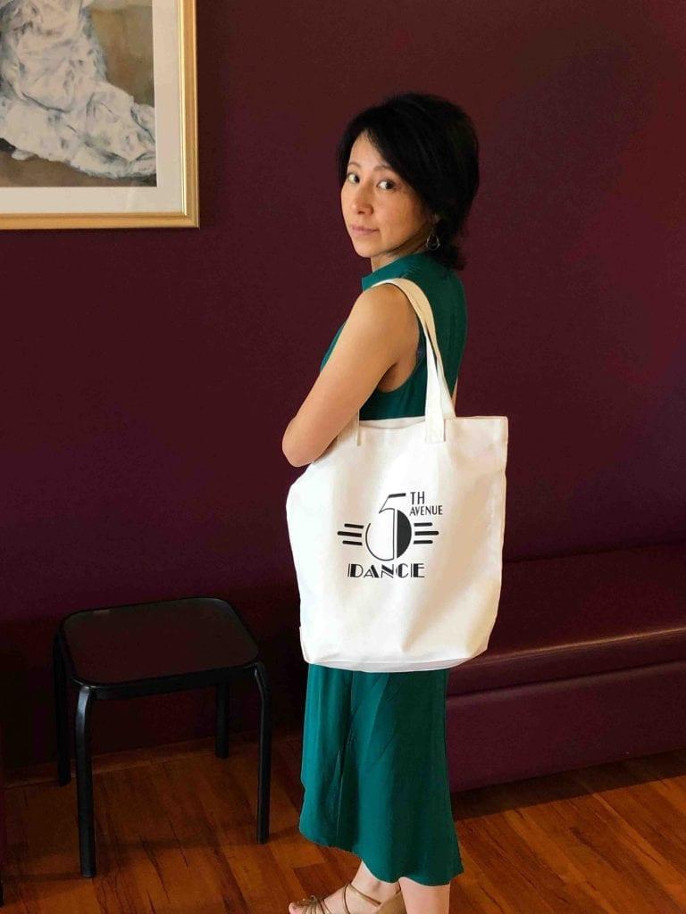 5th Avenue Dance Tote Bag